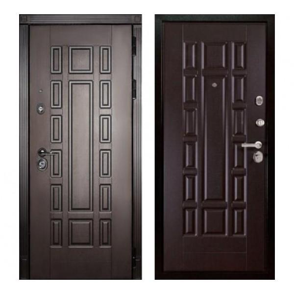 """входная  дверь Сударь МД-35 """"Венге"""""""