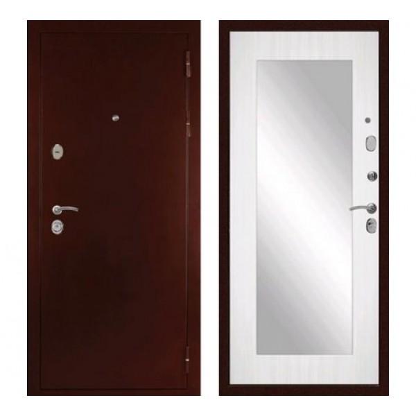 """входная дверь Зеркало в квартиру Сударь С-503  """"Сандал белый"""""""