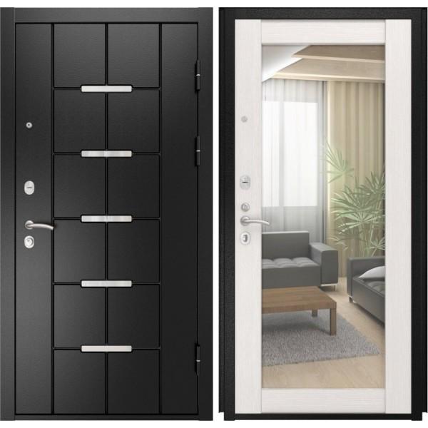 входная дверь Люксор 14 (ПВХ сосна прованс) Зеркало