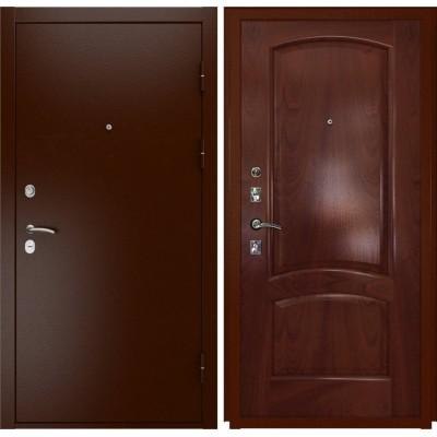 Входная дверь Luxor-3a (лаура красное дерево)