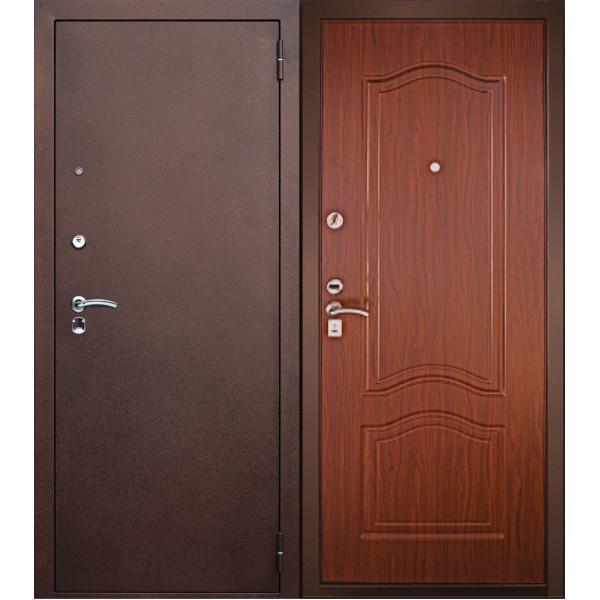 Входная дверь стандарт №3 Тёмный Орех