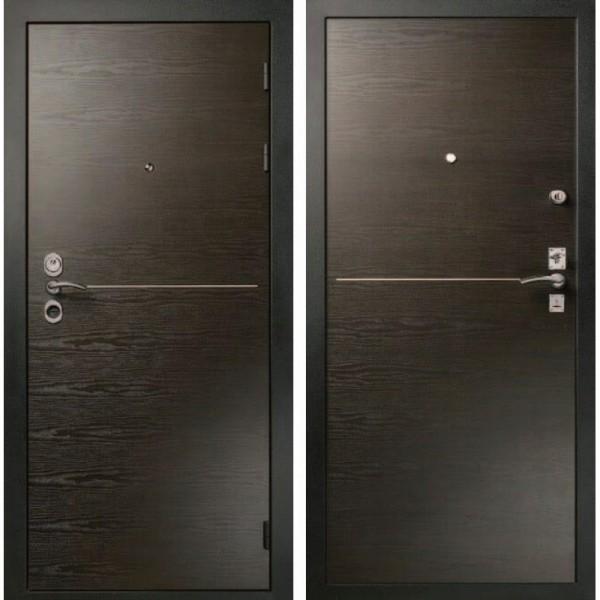 металлическая дверь Гранит три контура