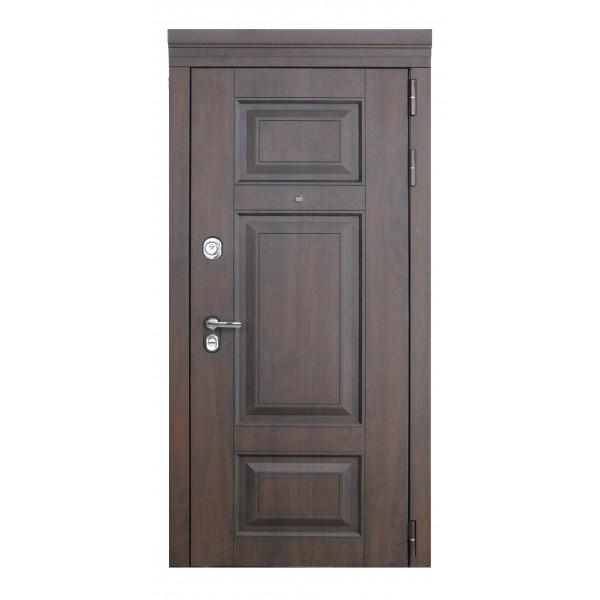 входная дверь Люксор-7 Дуб белая эмаль