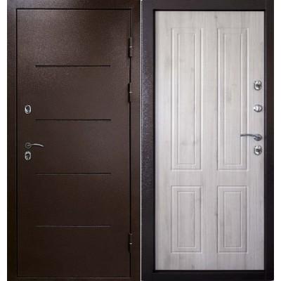 уличная дверь Кондор Райтвер терморазрыв беленый дуб