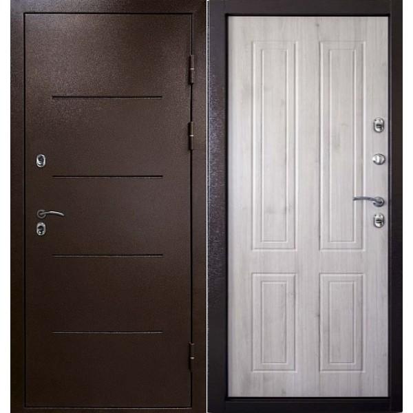 входная дверь Райтвер термо беленый дуб