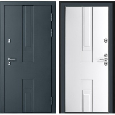 уличная дверь Дверной континент Тоскана  (Силк Титан / Белый