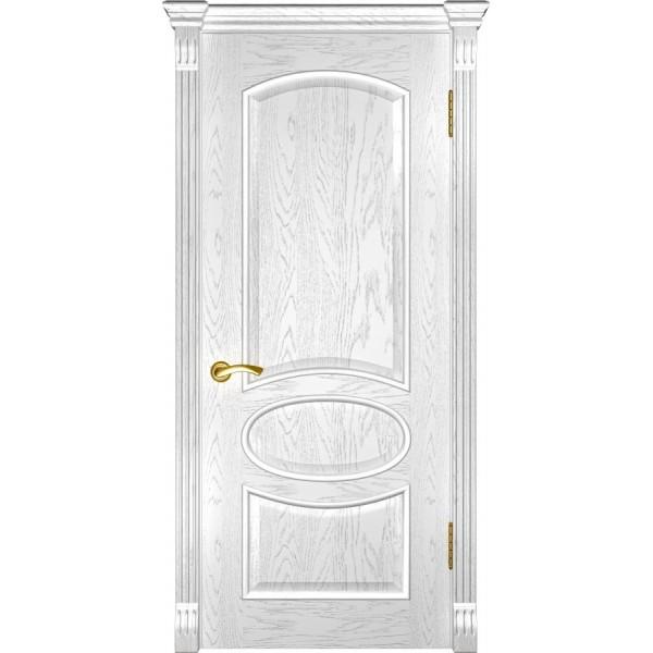 дверь эмаль Грация (ДГ дуб белая эмаль)