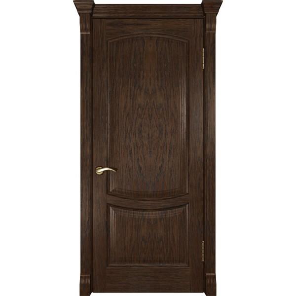 двери шпон Лаура-2 (мореный дуб ДГ)