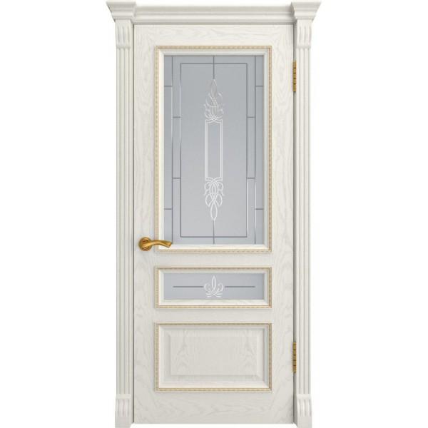 двери эмаль ФЕМИДА-2 (ДубRAL 9010 до) Luxor
