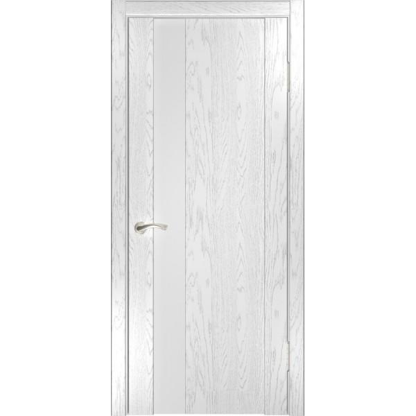 дверь эмаль Орион-3(дуб белая эмаль)