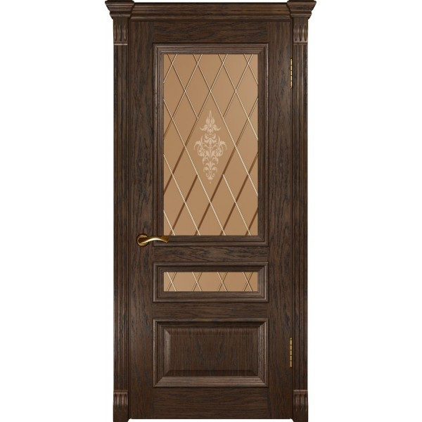 двери шпон Фараон-2 (ДО мореный дуб) Luxor