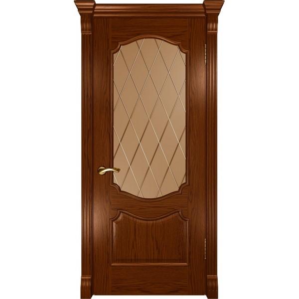 двери шпон Венеция (ДО Дуб сандал) Люксор