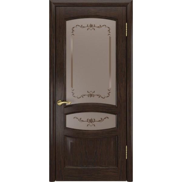дверь шпон Деметра Мореный дуб, до)