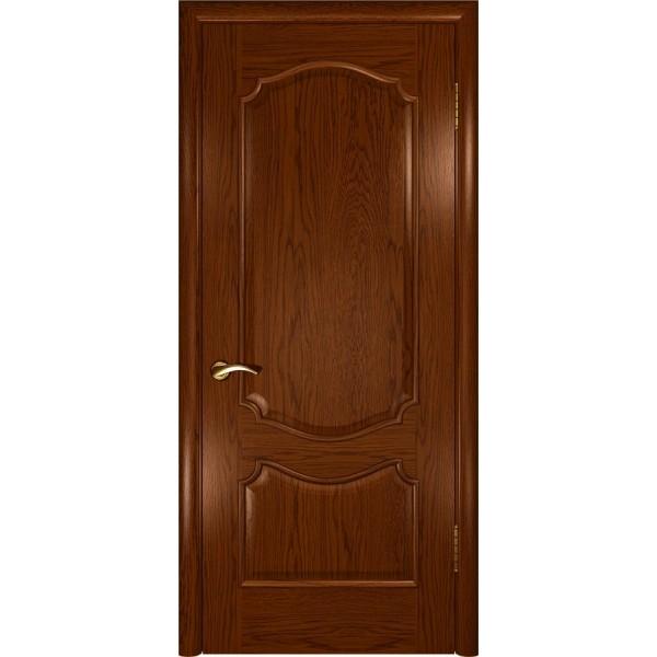 дверь шпон Венеция (ДГ Дуб сандал)
