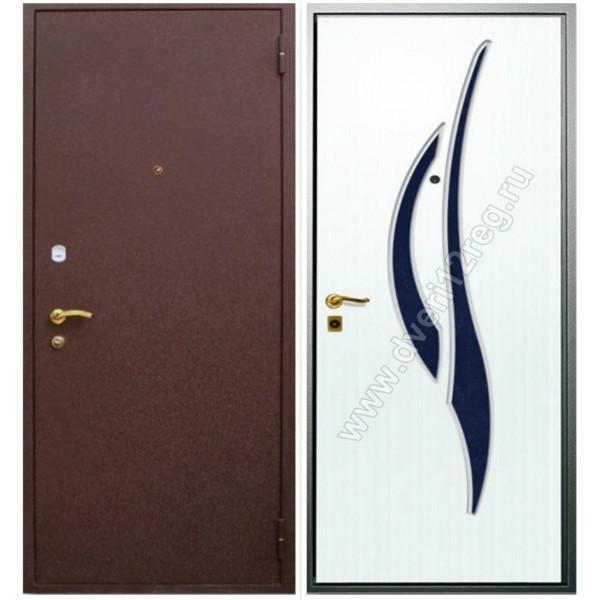Заказная трёхконтурная входная дверь Персона- 7