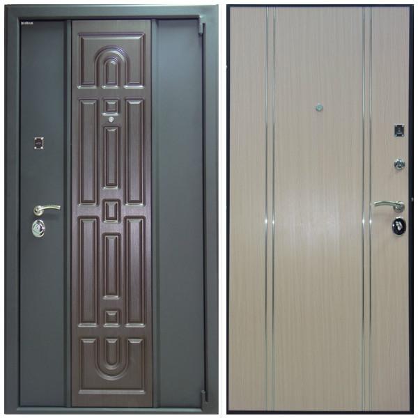 Входная дверь Персона-72 Black Три контура