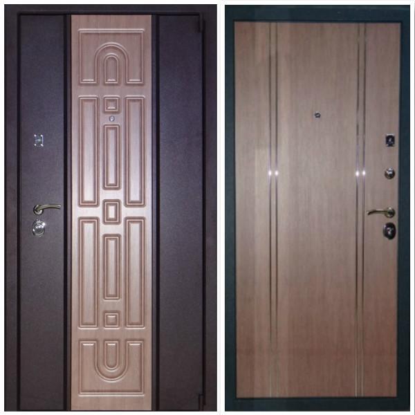 Утолщённая дверь Перона 72  для частного дома или квартиры. 3 контура. Терморазрыв (опция)