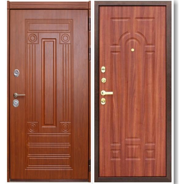 Металлическая дверь П5М с двумя панели