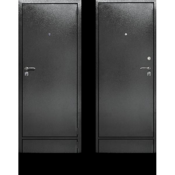Готовая входная дверь с усиленной теплоизоляцией и двумя контурами уплотнения