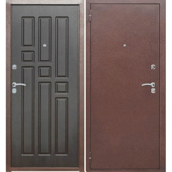 Стальная дверь эконом класса Монолит 12 №2
