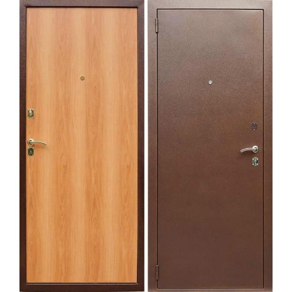 Стальная дверь эконом класса Монолит 12 №1