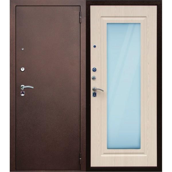 Входная дверь с зеркалом П-5