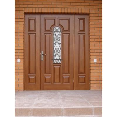 Уличная входная дверь Persona с полками