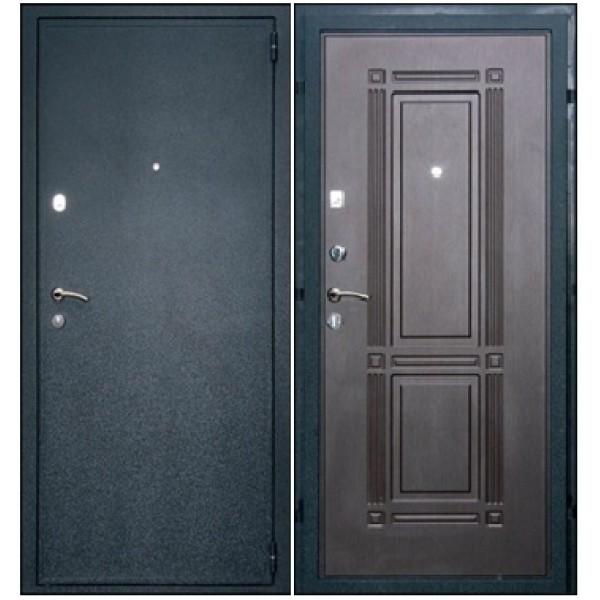 Входная дверь с двумя контурами