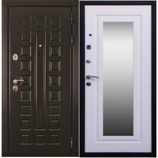 Входная дверь №1 с зеркалом