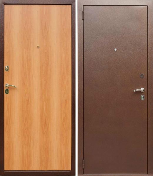 металлические двери в проем