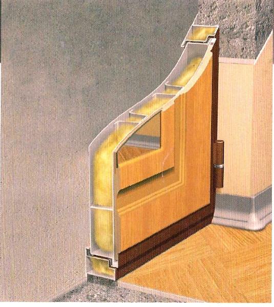 металлическая дверь внутреннего открыв
