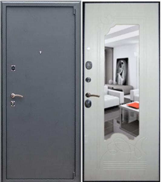 входные двери с качественной звукоизоляцией и зеркалом