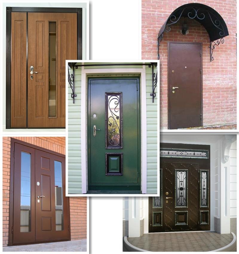 купить уличную входную дверь дешево