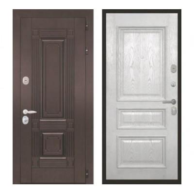 """дверь Интекрон Италия """"Валентия 2 / Ясень жемчуг"""""""