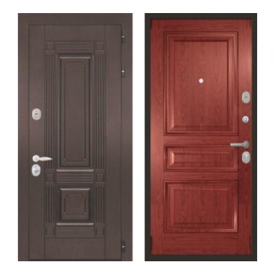 """дверь Интекрон Италия """"Валентия 2 / Красное дерево"""""""