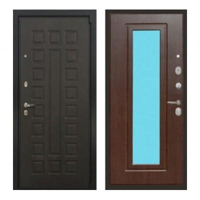 дверь  Лекс 4А Неаполь Mottura с Зеркалом (Венге / Венге) - панель №22: