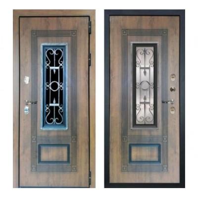 дверь Лекс Термо Русь (Голден патина