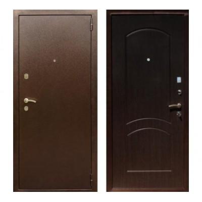 """дверь Rex 1А Хром, Цвет """"Венге"""""""