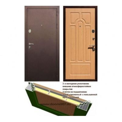 "дверь Rex 5А, Цвет ""Дуб"""
