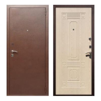 """дверь Rex 1, Цвет """"Беленый дуб"""""""
