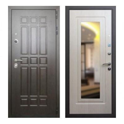 """дверь Rex 8 с зеркалом, Цвет """"Беленый дуб"""""""