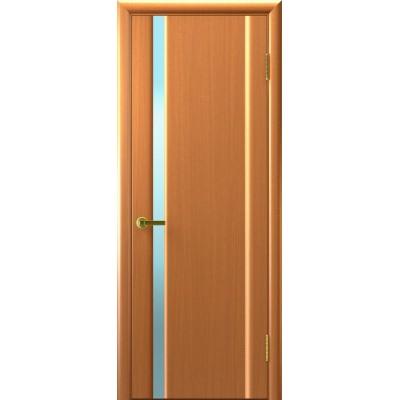 шпонированная дверь СИНАЙ-1 (Светлый Анегри Т34,стекло белое)