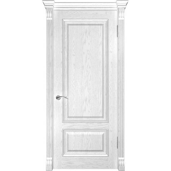 дверь эмаль Фараон-1 (дуб белая эмаль ДГ) Luxor