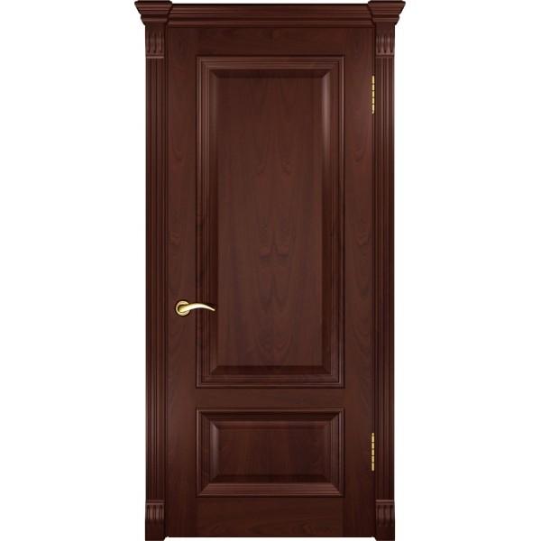 двери шпон Фараон-1 (ДГ красное дерево) Люксор