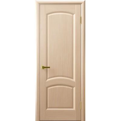 межкомнатная дверь Лаура (беленый дуб, глухая)