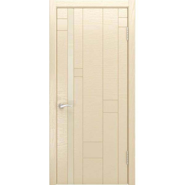 двери эмаль Арт-1 (ясень слоновая кость) Люксор