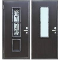 Уличная дверь Persona П-4М с ковкой №124