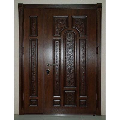 Входная уличная дверь  Persona 7М Рафаэль двустворчатая