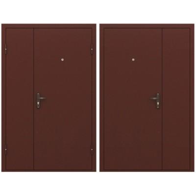 Входная дверь двустворчатая 1300